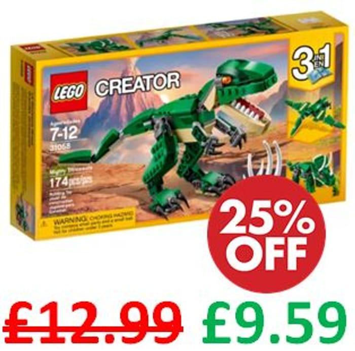 LEGO Creator 3-in-1 Mighty Dinosaurs (31058) *4.8 STARS*