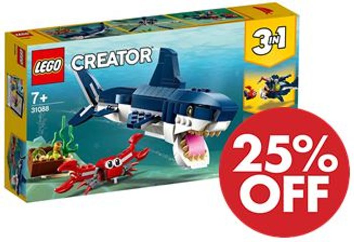 LEGO Creator 3-in-1 Deep Sea Creatures (31088) *4.9 STARS*