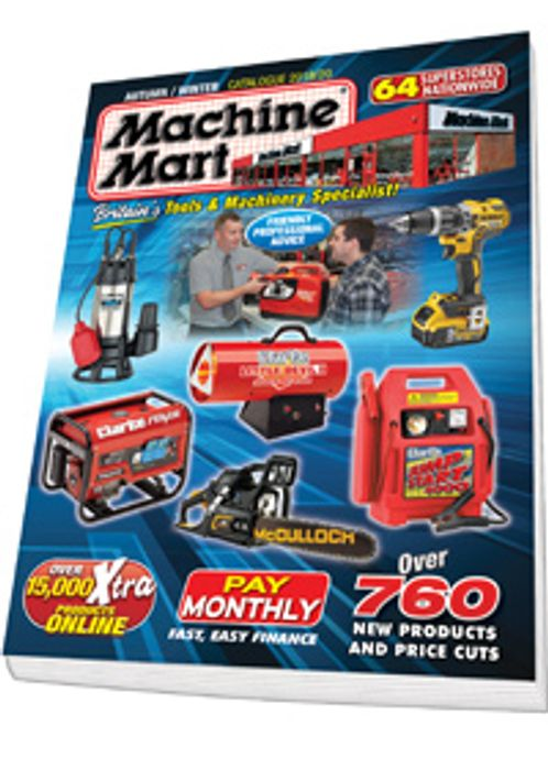 Get A Catalogue From Machine Mart FREE BY POST
