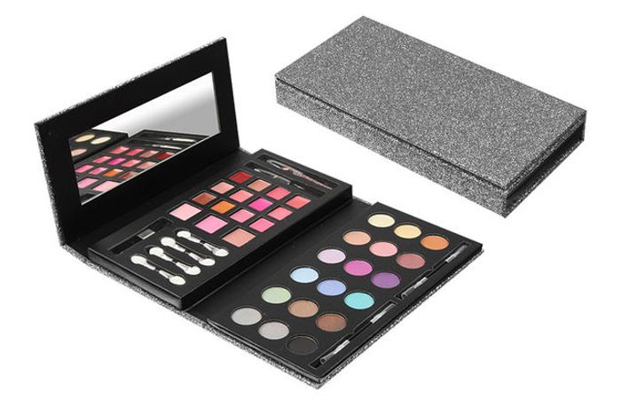 Urban Beauty 43Pc Glitter Clutch Cosmetic Set - Only £5!