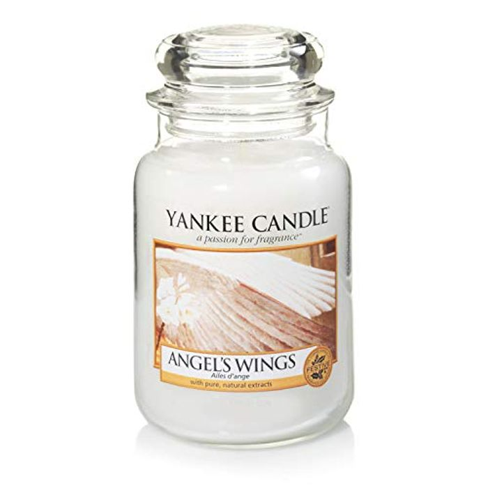 Bargain! Yankee Candle Large Jar Candle, Angel's Wings at Amazon - 45% Off!