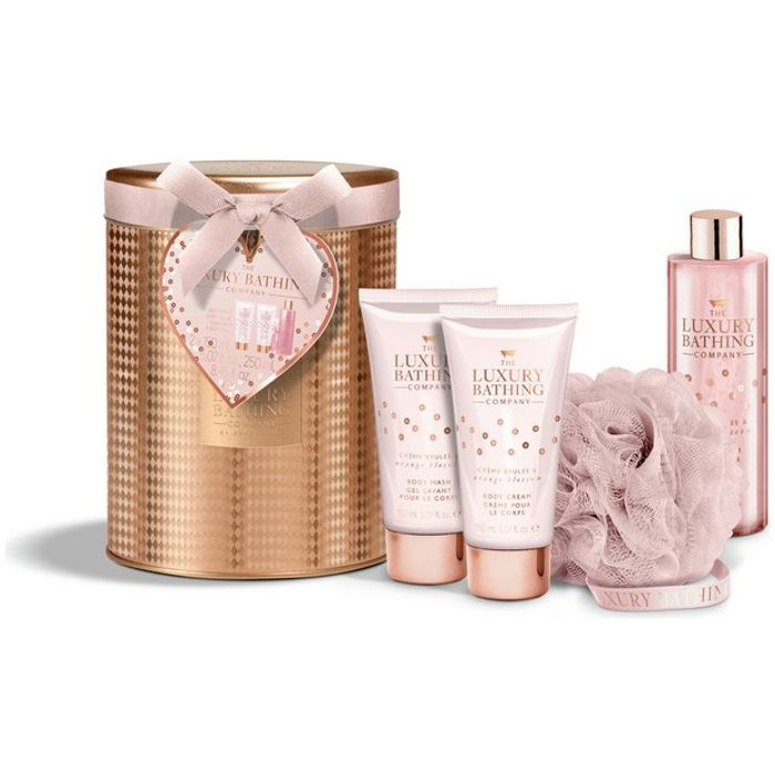 The Luxury Bathing Company Ceme Brule and Orange Gift Set Only £7.99