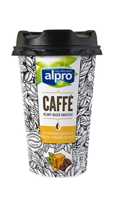 Free Alpro Caffe Caramel or Almond Cup