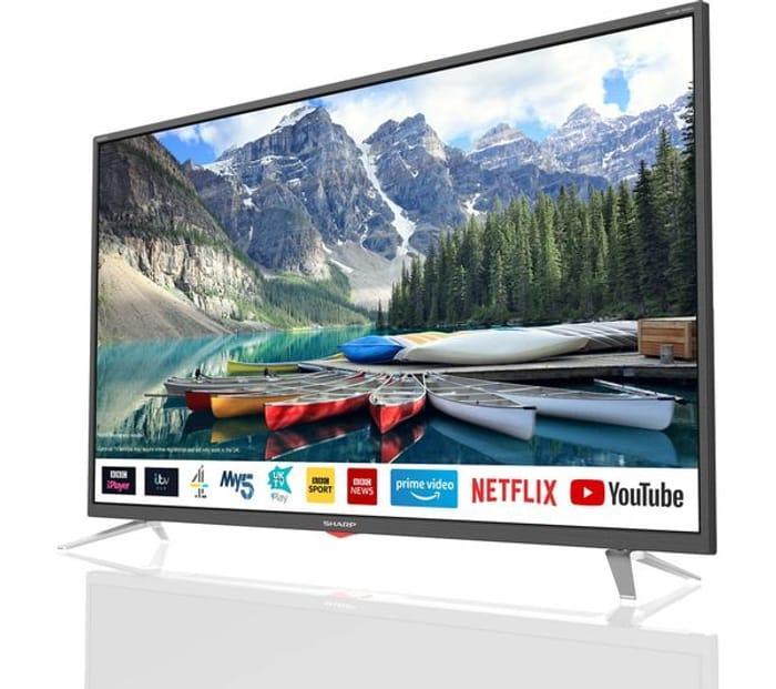 "*SAVE £50* SHARP 40"" Smart Full HD LED TV"