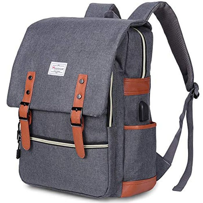 Deal Stack-Vintage Laptop Backpack - 45% Off with Code!