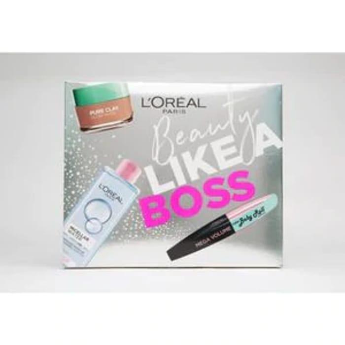 L'Oreal Beauty like a Boss Gift Set