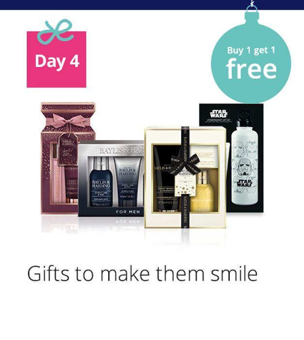 Buy 1 Get 1 Free on Selected Gifts at LLOYDS PHARMACY