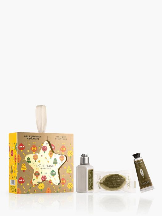 L'Occitane Verbena My Fresh Essentials Star Bodycare Gift Set