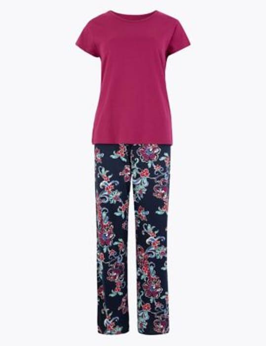 GLITCH? M&S Ladies PJ's Adding to Basket at £5 - 3 Designs WAS £9.50!