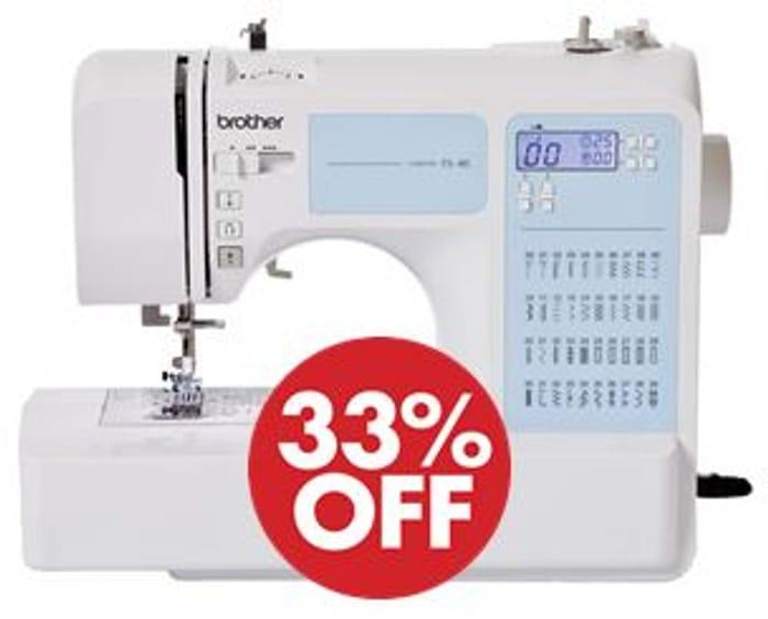 Brother 40-Stitch Electronic Sewing Machine W/ Instructional DVD *4.7 STARS*
