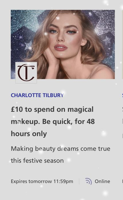 Free £10 to Spend with Charlotte Tilbury