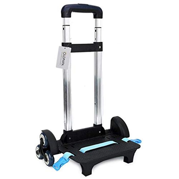 Backpack Trolley - Wheeled Trolley Hand Aluminium Alloy Non-Folding