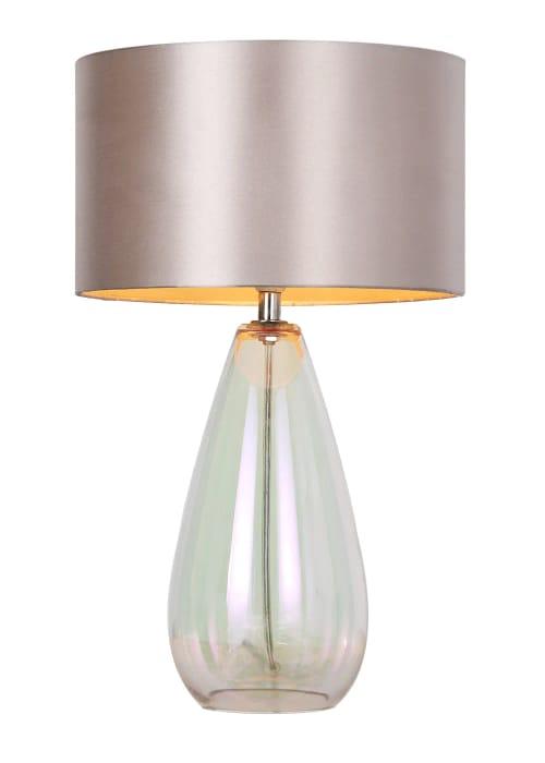 Iridescent Table Lamp