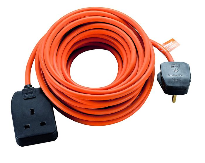 Best Ever Price! Masterplug Heavy Duty Single Socket Long Extension Lead 10 M