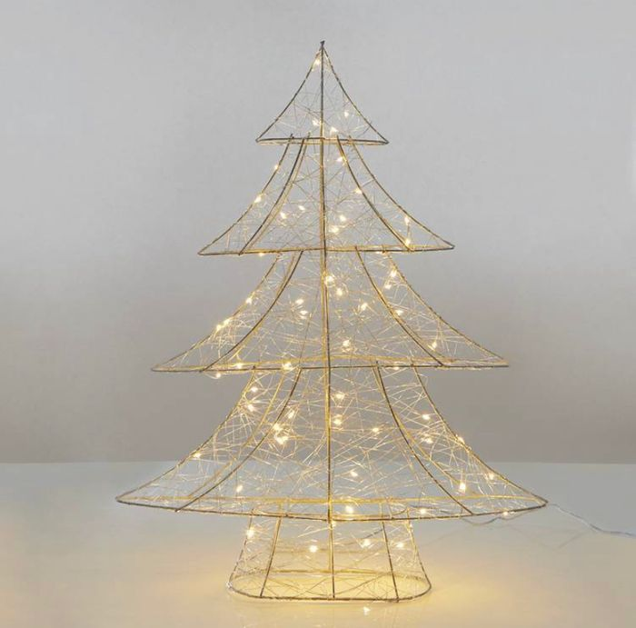 Debenhams - Silver LED Wire Tree, Half Price!