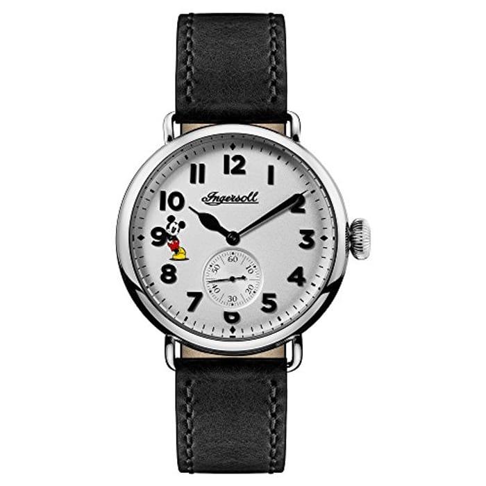 Disney Men's the Trenton Union Quartz Watch with White Dial