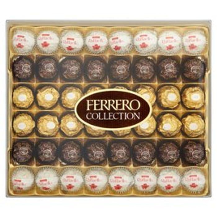 Ferrero Rocher Collection 48 Pieces 528g at Ocado - Only £9.6!