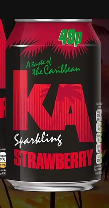KA Strawberry Flava Fizz 19p at Home Bargains - Save £0.30!