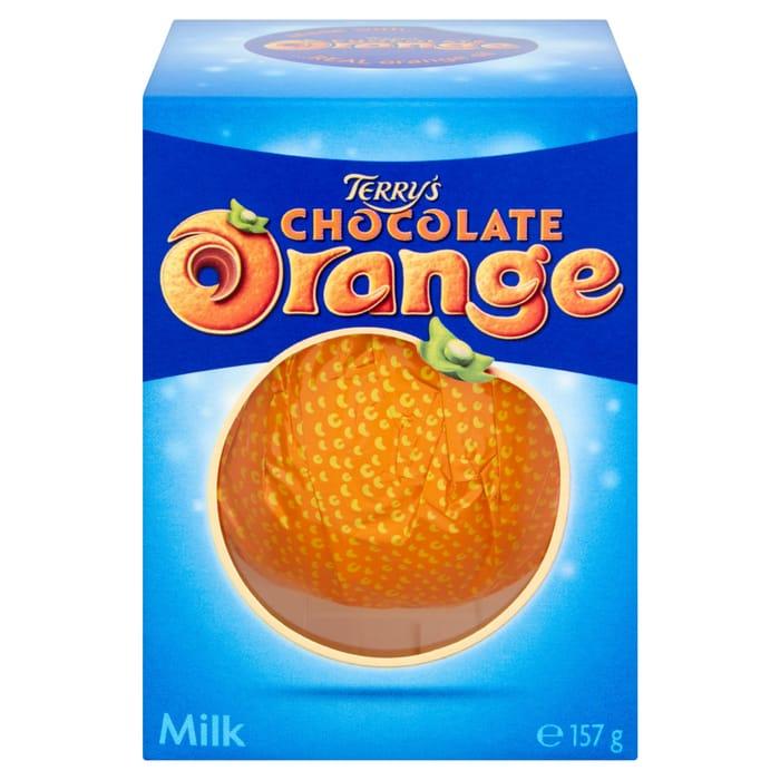 Terry's Chocolate Orange Milk Chocolate Box 157G - HALF PRICE!