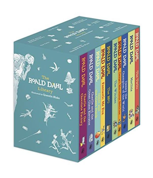 The Roald Dahl Centenary Boxed Gift Set (10 Books, Hardcover)