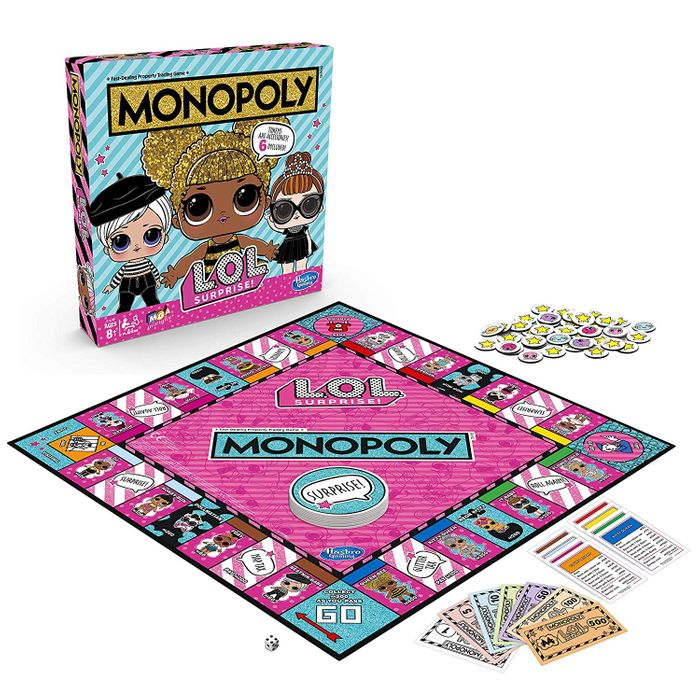 LOL Monopoly - L.O.L. Surprise Edition - Board Game *4.7 STARS*