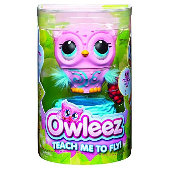 Owleez Flying Baby Owl - Interactive Toy - HOT TOY CHRISTMAS 2019