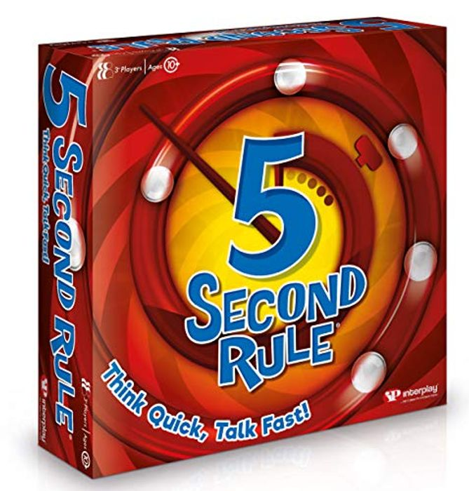 5 Second Rule GF001 Card Game, Multi - 60% Off!