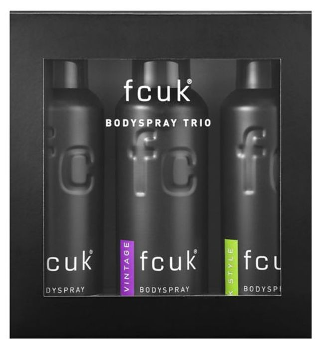Best Price! Selected FCUK Men's Including Gift Sets 1/2 Price - From £2