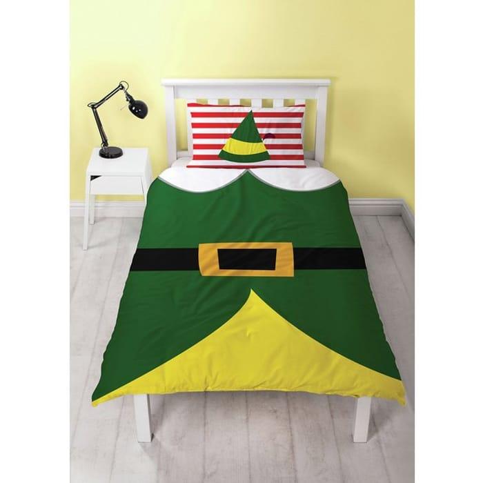 Elf Selfie Christmas Bedding Set - Single - Save £5!