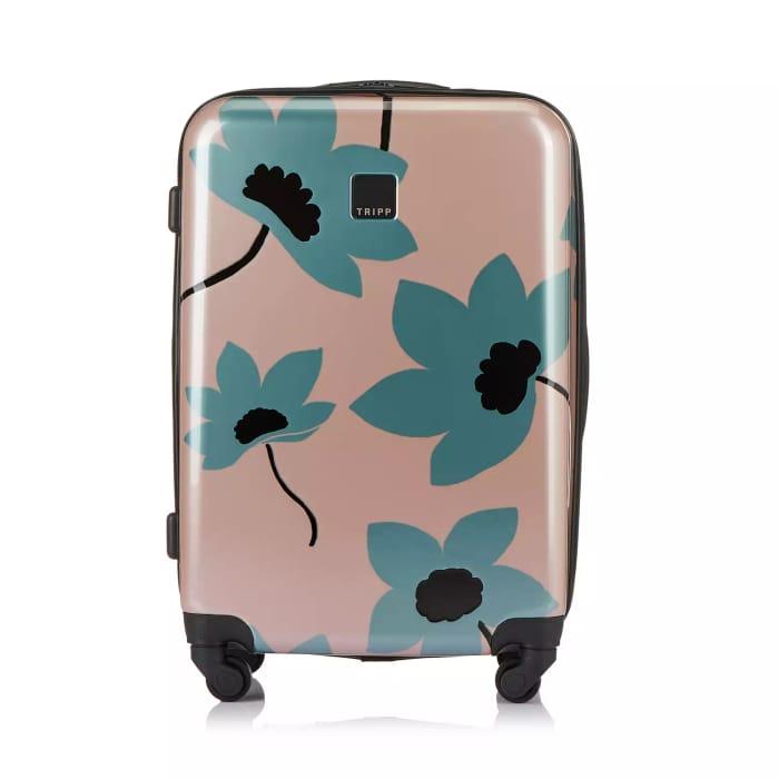 Tripp-Blush/Sage 'Azalea' Medium 4 Wheel Suitcase - 60% Off!