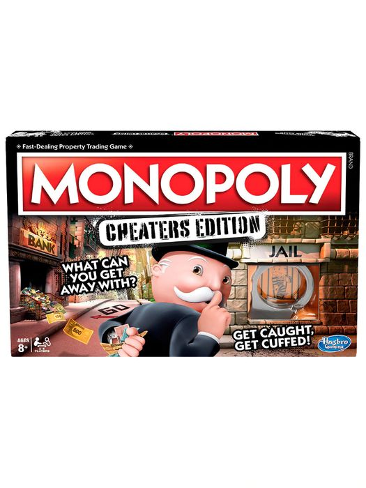 Monopoly: Cheaters Edition Only £9