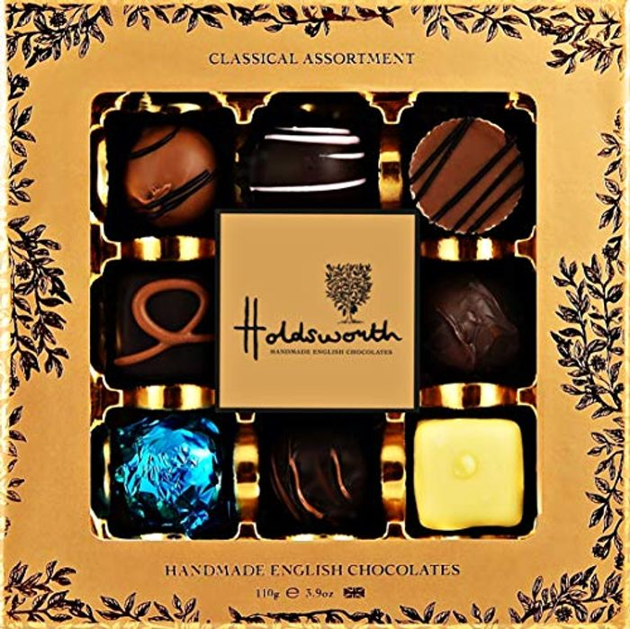 Holdsworth Chocolates Classic Assortment 110g - Save £3.21!