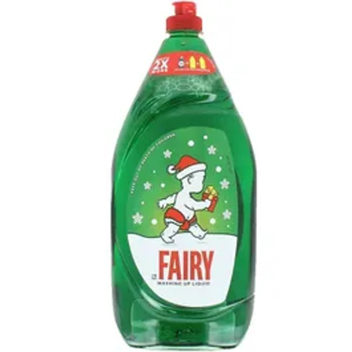 Christmas Edition Fairy Washing up Liquid **A HUGE 1350ml
