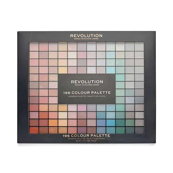 Revolution 196 Eyeshadow Palette Only £15