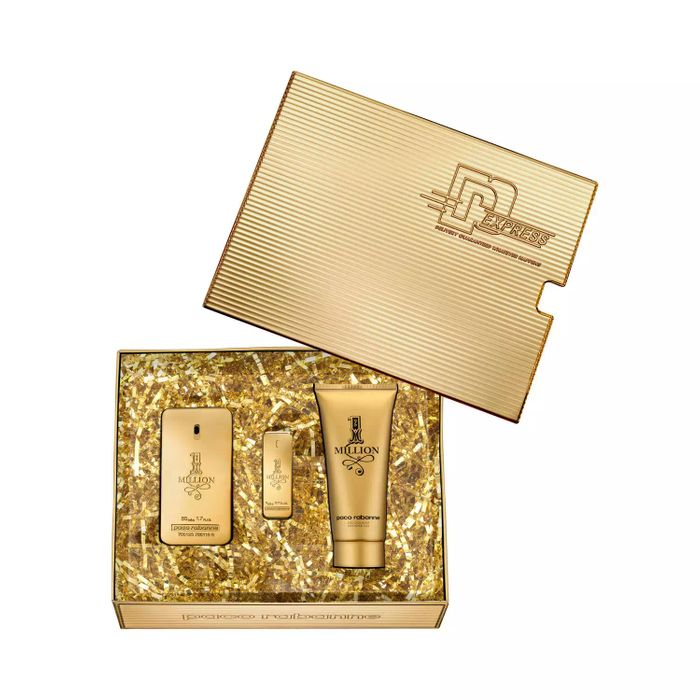 Paco Rabanne - '1Million' Eau De Toilette Gift Set Only £42.07