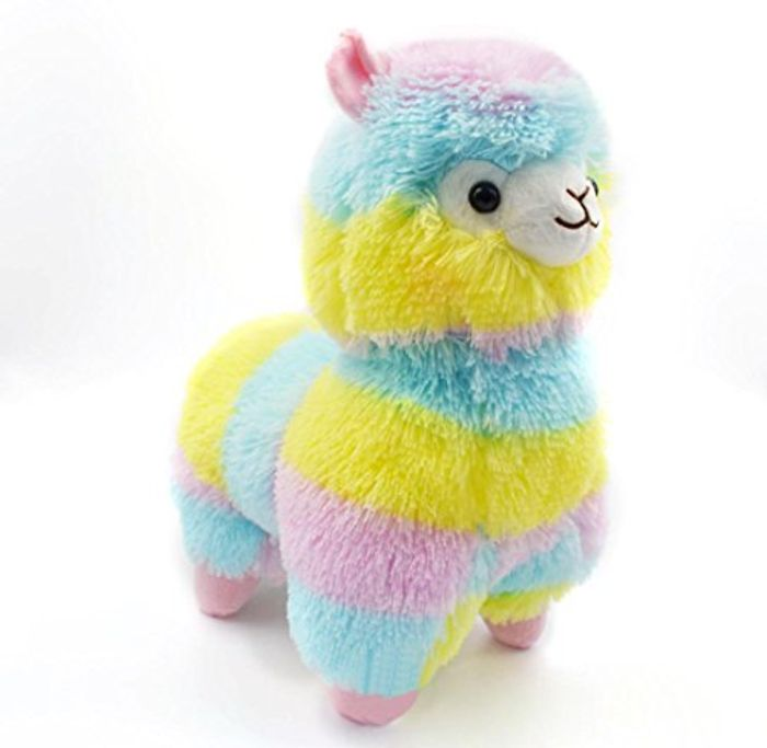 18CM Colorful Kawaii Alpaca Llama FREE DELIVERY