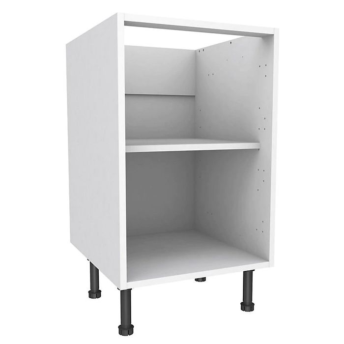 Cooke & Lewis White Standard Base Cabinet, (W)500mm