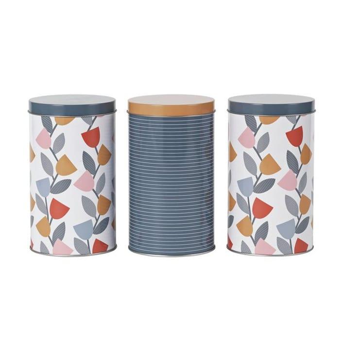 Argos Home Apartment Apparel Storage Tins - 3 Pack