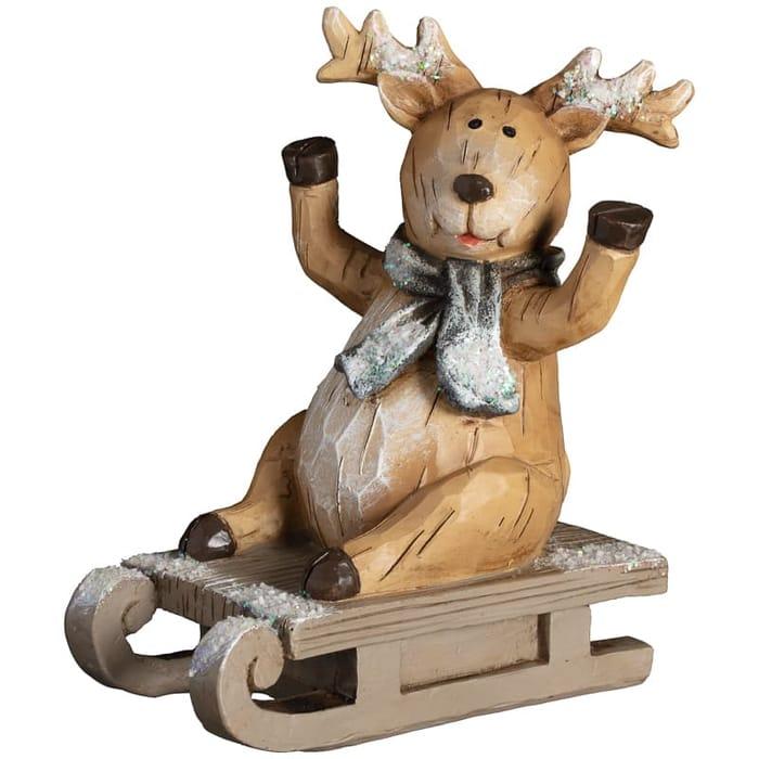 Woodland Animal on Sleigh - Reindeer