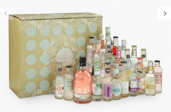 Half Price Advent Calendars, including Gin, Hotel Chocolat