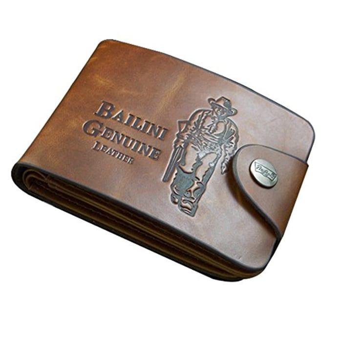 Men's Classic Leather Cowboy Wallet