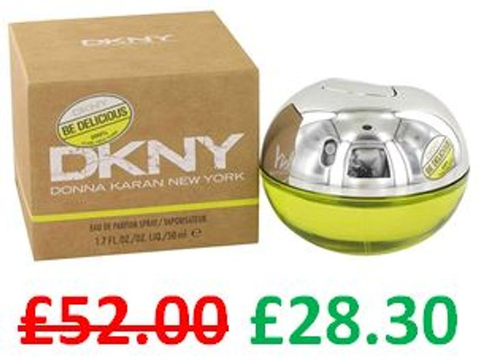 Almost Half Price - DKNY Be Delicious EDP 50ml