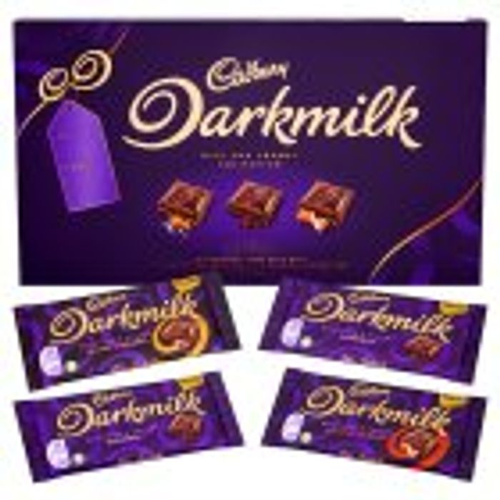 Cadbury Dark Milk Selection Chocolate Box - HALF PRICE