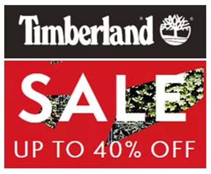 TIMBERLAND SALE - up to 40% Off + FREE Delivery