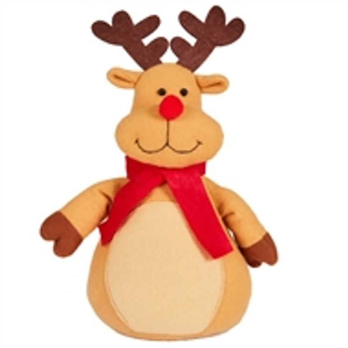 Homebase - Christmas Reindeer Door Stop £3