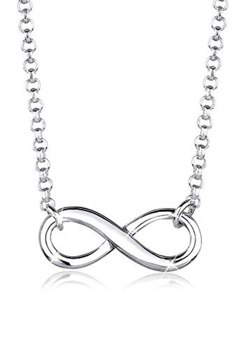 Elli Women's 925 Sterling Silver Infinity Symbol Pendant Love