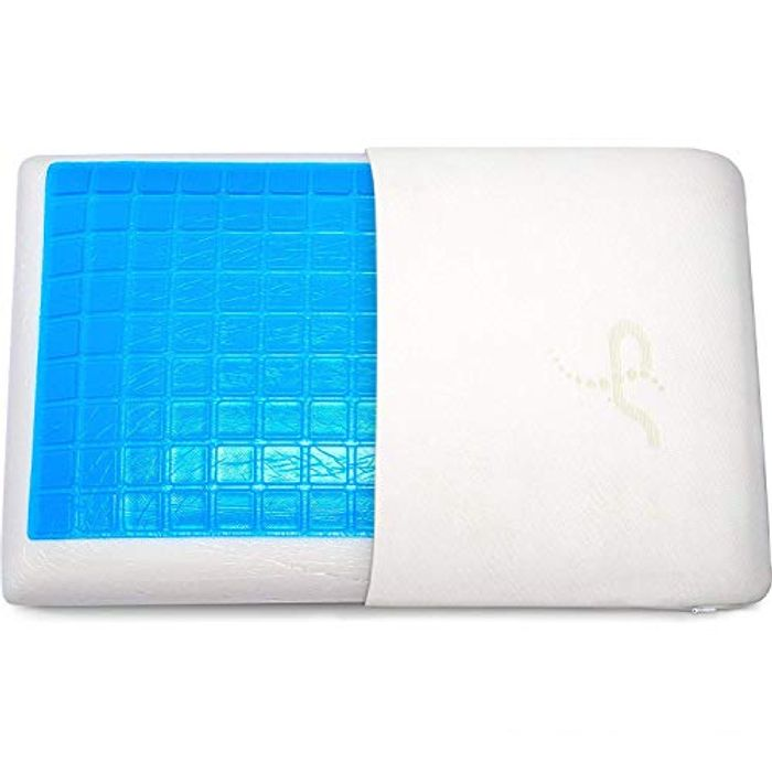 Comfort Therapy Memory Bed Pillow with Heat Dissipating CoolGel