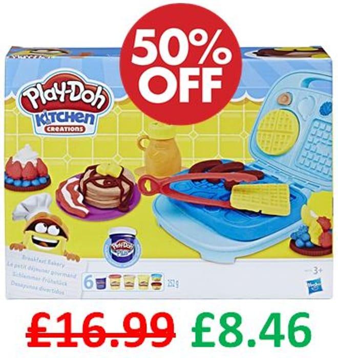 HALF PRICE at AMAZON - Play-Doh Kitchen Creations Breakfast Bakery *4.7 STARS*