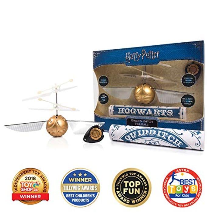 Harry Potter Golden Snitch Heliball - Award Winner!