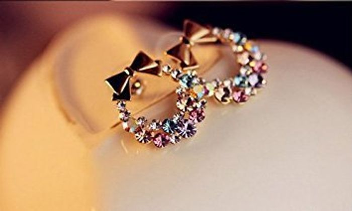 Bow and Garland Earrings with Free Delivery